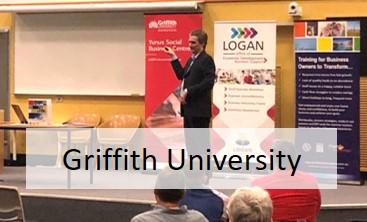 tim stokes business coach griffith uni talk