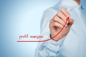 Business inspiration profit margins
