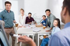 HR solution employee team